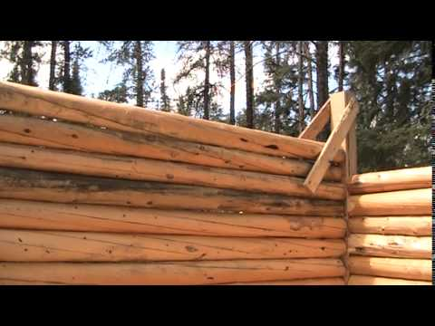 How to Build a Cabin (Trapping Cabin) - Part 12