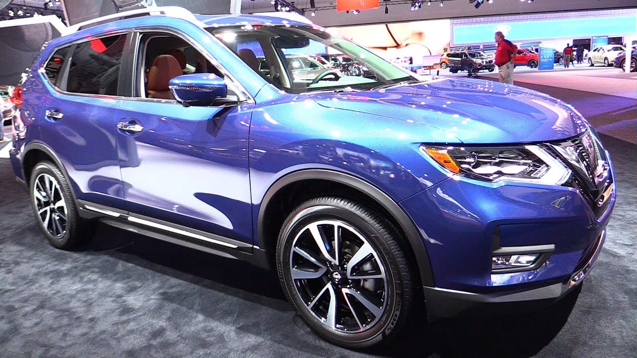 2017 Nissan Rogue Sl Awd Exterior And Interior Walkaround Debut At 2016 La Auto Show You