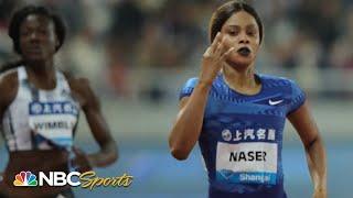 Salwa Eid Naser Cruises in 400 Meters | NBC Sports