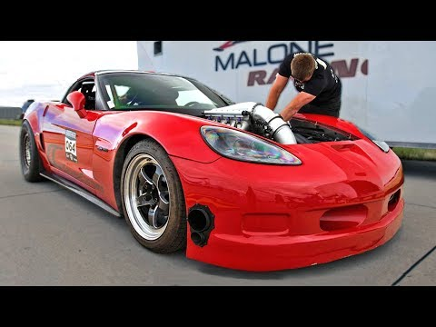 NEW TT Corvette 1/2 Mile Record (He's just getting started)