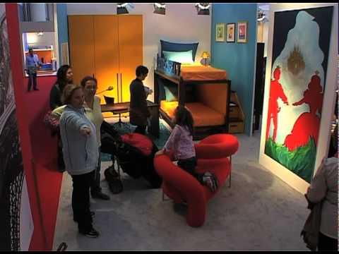 Man camere per ragazzi a moa casa youtube for Man arreda ragazzi roma