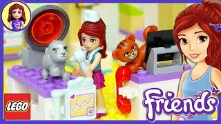 Lego Friends Heartlake Vet Clinic Set Unboxing Building Review - Kids Toys