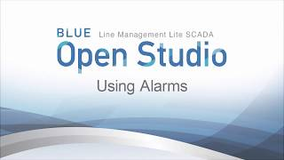 Video: BLUE Open Studio: Using Alarms