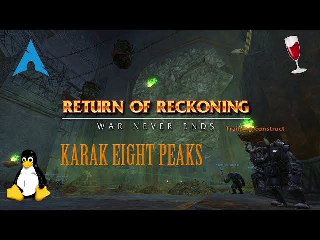 Warhammer: Return Of Reckoning - Karak 8 Peaks Opening
