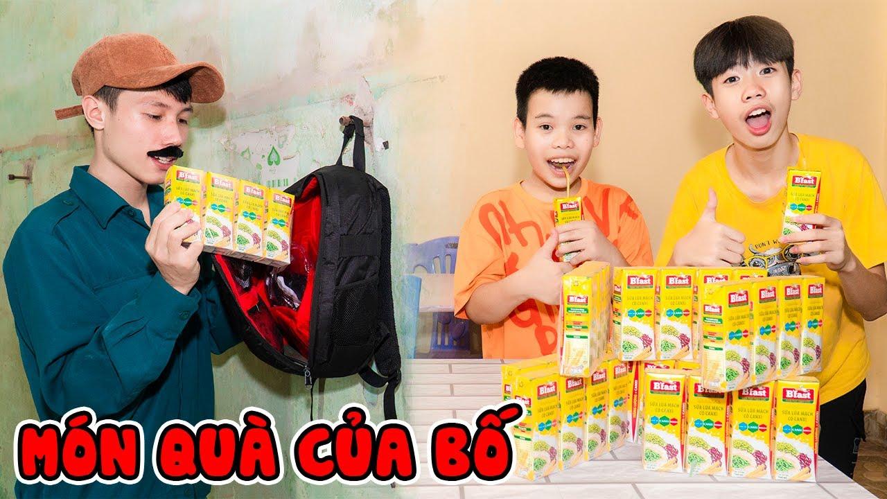 Món Quà Của Bố 💕 Gà Trống Nuôi Con 💕 Jun Jun Vlog