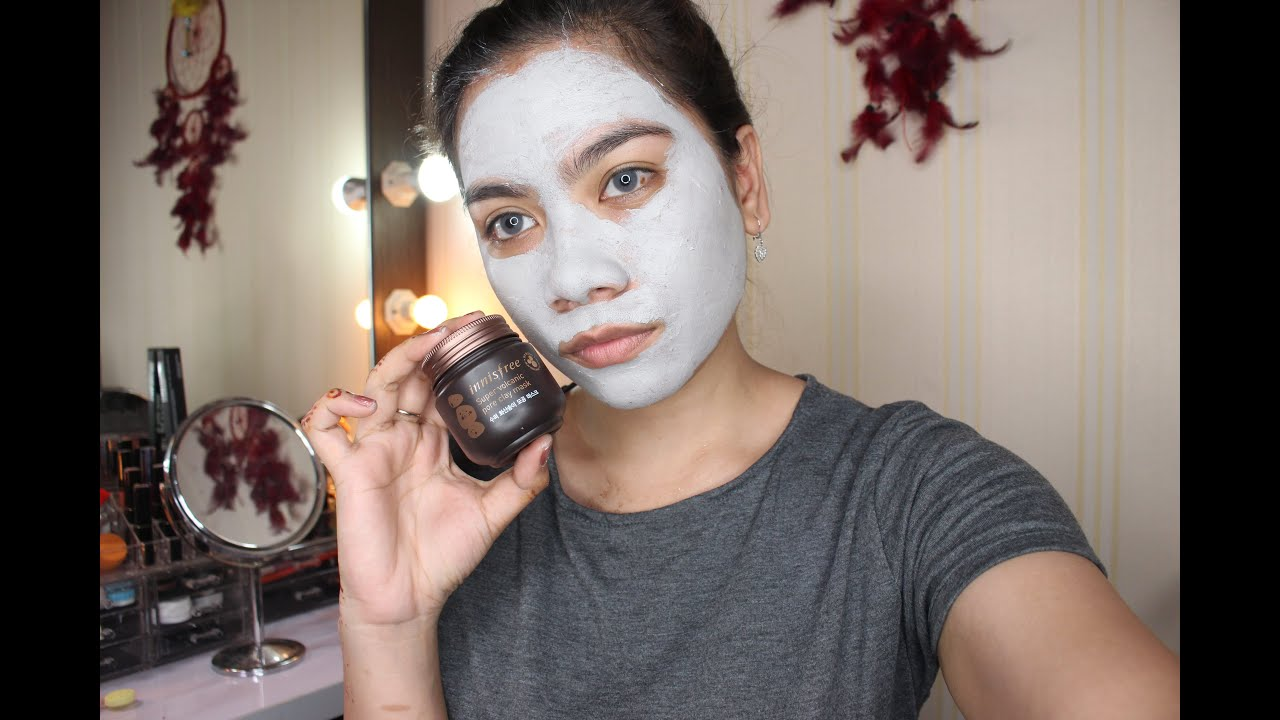 Innisfree Super Volcanic Clay Mask Review Review Masker Jihan Putri