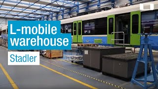 L-mobile warehouse im Einsatz bei Stadler