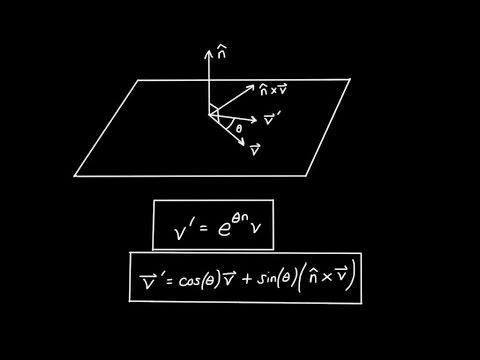 3D Rotations and Quaternion Exponentials: Special Case