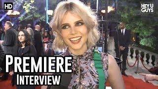 Lucy Boynton  | Murder on the Orient Express World Premiere Interview