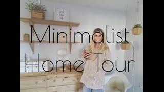 MINIMALIST HOME TOUR/Downsizing our home