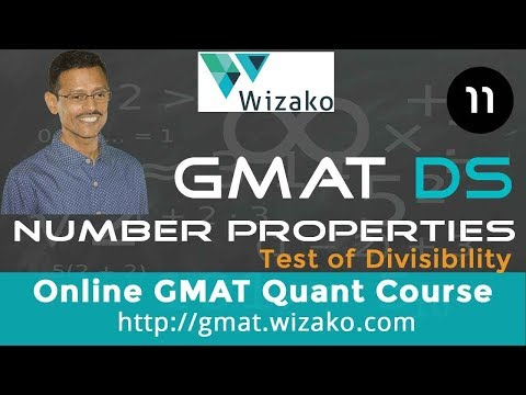 650 level GMAT Data sufficiency - Number Properties - Test of Dvisibility