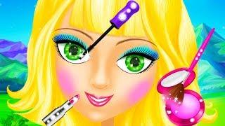 Fun Animal & Princess Hair Salon Makeup Care Games - Magic Princess Makeover Games For Girls