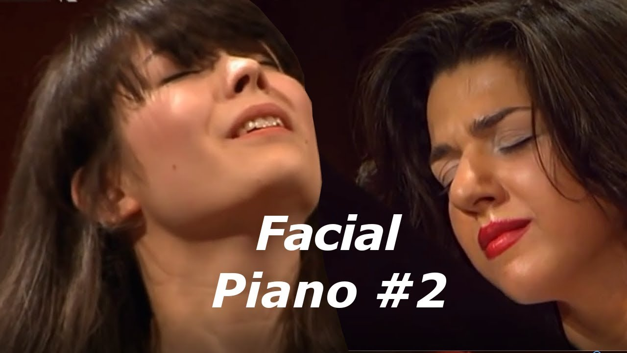 Piano Top Facial Expression of Famous Pianists #2