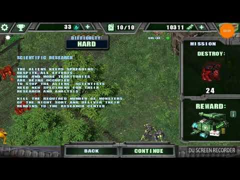 cách hack game alien shooter tren dien thoai - Alien shooter trên điện thoại
