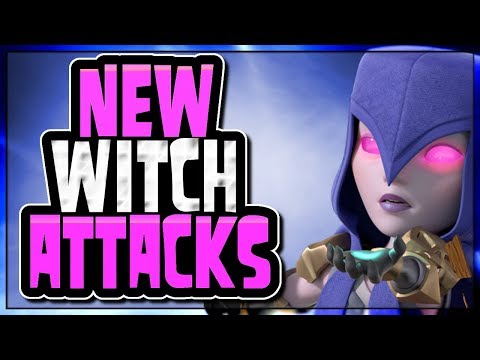 2 NEW WAYS TO USE WITCHES | FROZEN WITCH | Creative Attacks | Clash of Clans