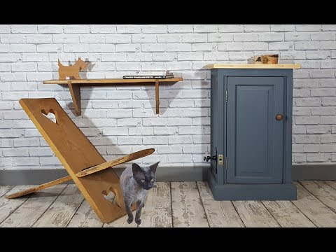 Recycled Old Door Projects A Cupboard