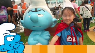 """""""We're all Smurfs"""" World Tour Exhibition in Hong Kong • Смурфики"""