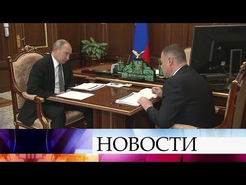 В.Путин провел рабочую встречу с главой администрации Тамбовской области А.Никитиным.