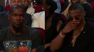 Kevin Durant And Russell Westbrook PISSED At Peyton Manning Joke