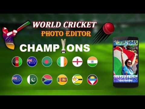 World Cricket Photo Editor/ICC champions trophy 2017 Photo Editor