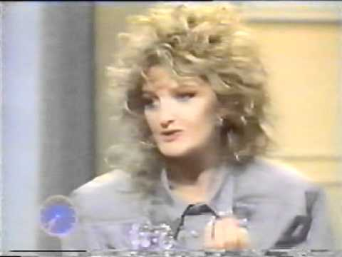 Bonnie Tyler - Interview 1986 (UK TV)