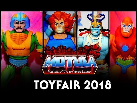 Noticias MOTU en toyfair 2018 ademas de quejas sobre Super 7 y el manejo de la linea