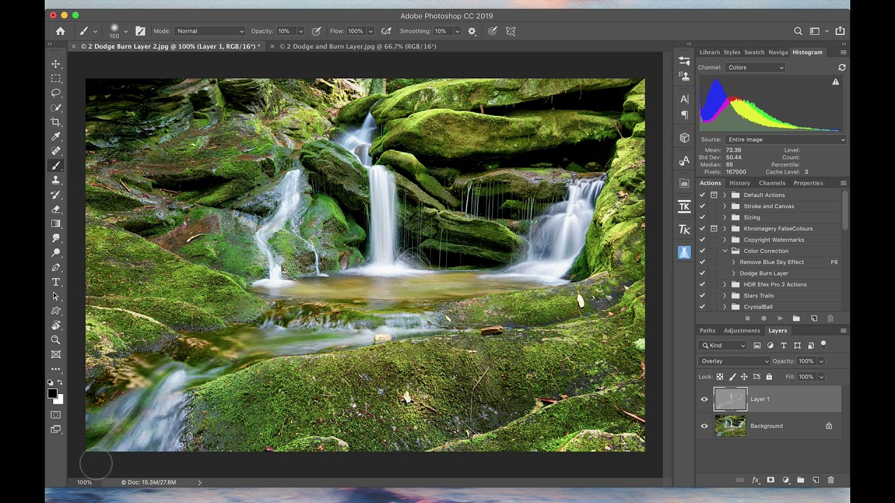 Selectively Dodge and Burn Your Landscape Images in Photoshop