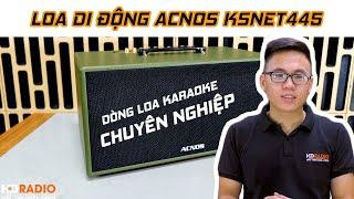Loa Di Động ACNOS KSNet445 // Dòng loa karaoke chuyên nghiệp