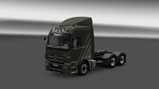 ETS2 Mercedes-Benz Actros MP3 V6 & V8 sound mod v2.0