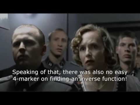 Hitler reacts to Edexcel C3 Maths 2016