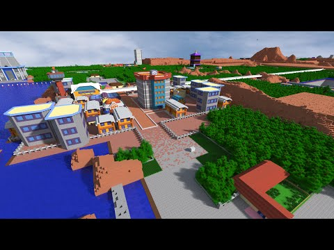 Minecraft: Pixelmon Johto Map Trailer - Pokemon Gold and Silver Recreated