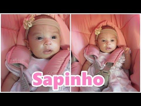 Bebê Com Sapinho- Jovem Família