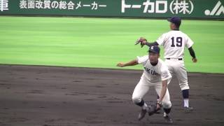 【高校野球】育英シートノック『2017夏・兵庫大会4回戦』 thumbnail