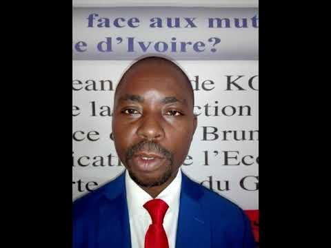 Le SG du SYNAPPCI, Guillaume Gbato parle des enjeux  de la 2ieme Assemblée générale ordinaire