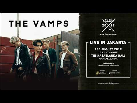 Guess What? THE VAMPS Four Corners 2019 Tour is Coming to Indonesia! Mp3