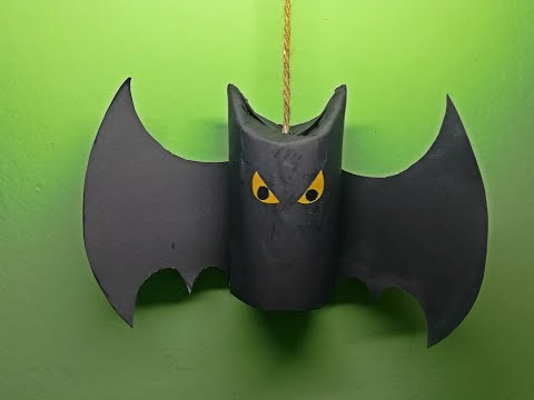Halloween Ghost Decoration By Paper| Halloween Bat | DIY For Kids
