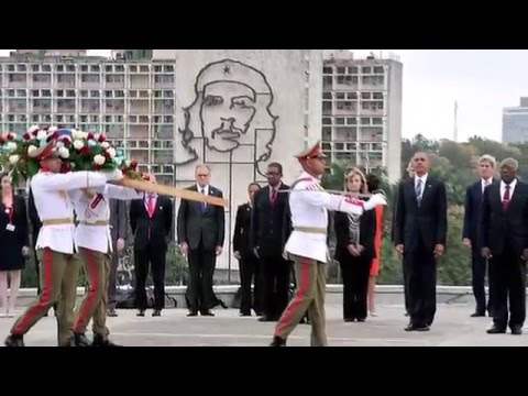 Cuban Exile Community Reels at Obama's Warm Welcome in Havana