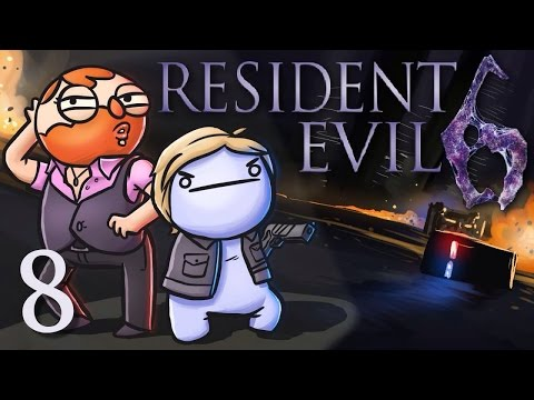 Resident Evil 6 /w Cry! [Part 8] - Yank my crank