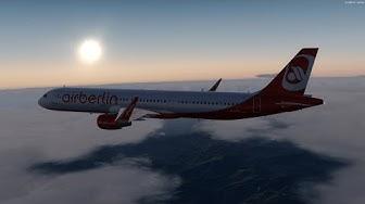 Prepar3Dv4.3 | Keine Partystimmung auf Malle | EDDT - LEPA | AirBerlin | AS A321