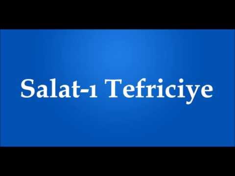 Salat-ı Tefriciye (Arapça-Türkçe)