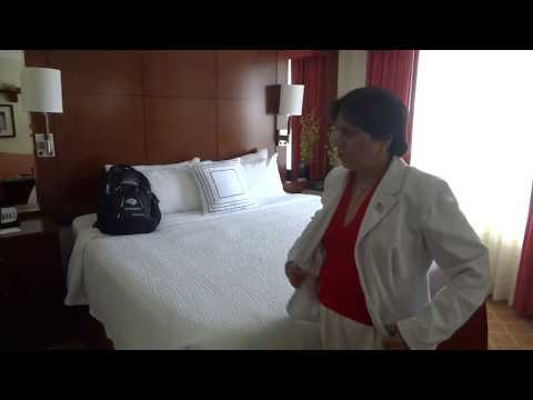 Aruna & Hari Sharma Welcome Kiss Marriott Residence Inn Washington Dulles Airport, Jun 10, 2015