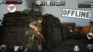 Top 10 Battlefield Games For Android HD OFFLINE (WAR GAMES)