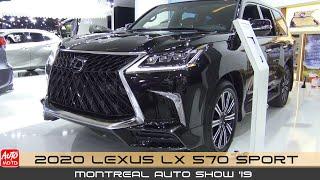 2020 Lexus LX 570 Sport Luxury SUV - Exterior And Interior - Montreal Auto Show 2020