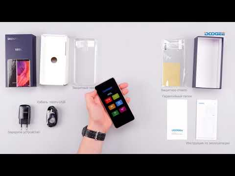 Распаковка смартфона Doogee X60L
