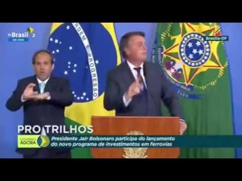 Bolsonaro faz discurso sobre atos em 7 de Setembro e é aplaudido pela Multidão.