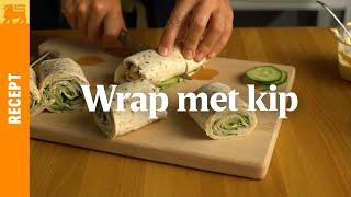 Wrap met kip