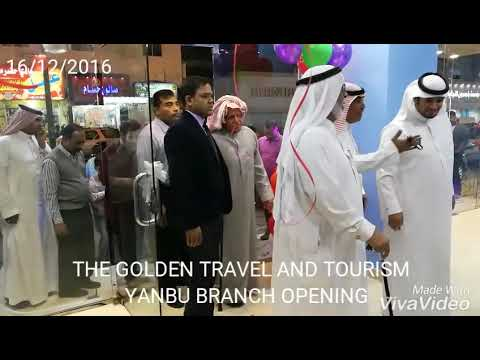 The golden travel and tourism yanbu branch opening