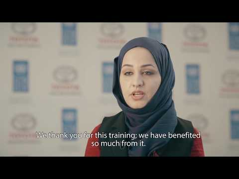 Displaced Iraqi youth regain hope for a better life