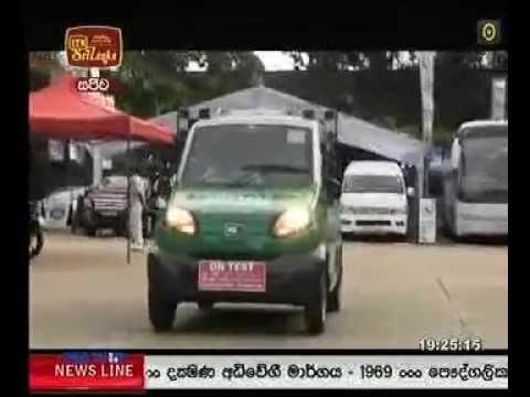 Bajaj RE 60 at Ceylon motor show 2015