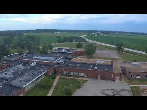 Flying my drone at Rockcreek Elementary School